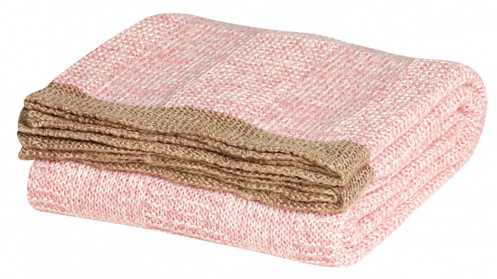 Sumiko Pink Throw Rug