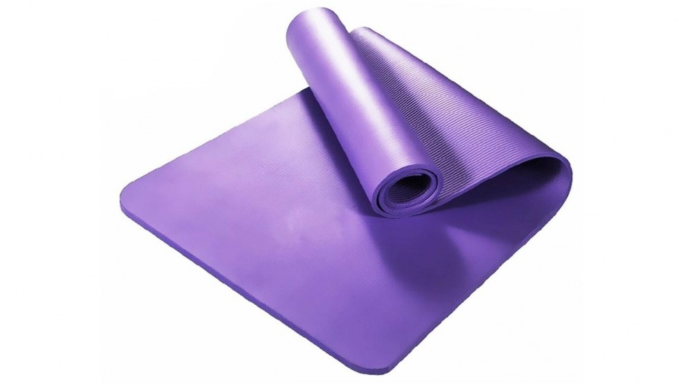 T&R Sports Purple Nitrile Butadiene Rubber Thick Yoga Mat