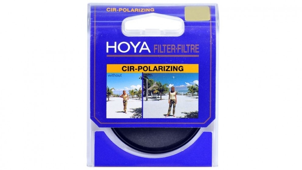 Hoya Circular Polarizing Camera Lens Filter - 49mm