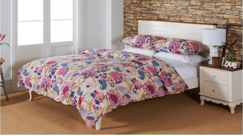 Callie Floral Quilt Cover Set - Double