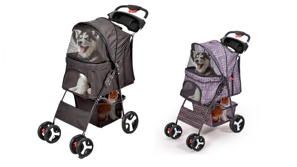 PaWz 4 Wheels Pet Stroller