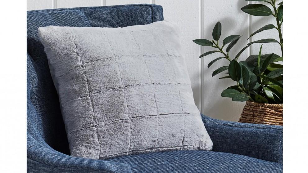 L'Avenue Geneva Silver Cushion
