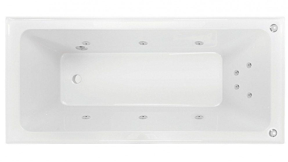 Buy Decina Cortez 1675mm 10 Jet Santai Spa Bath | Harvey Norman AU