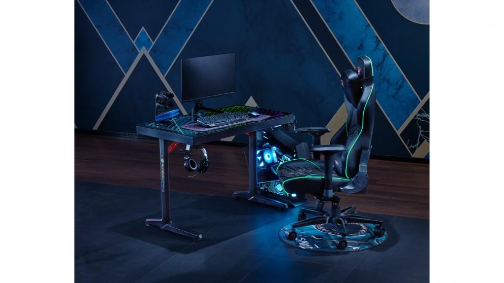 Eureka Ergonomic I43 Tempered Glass Gaming Desk