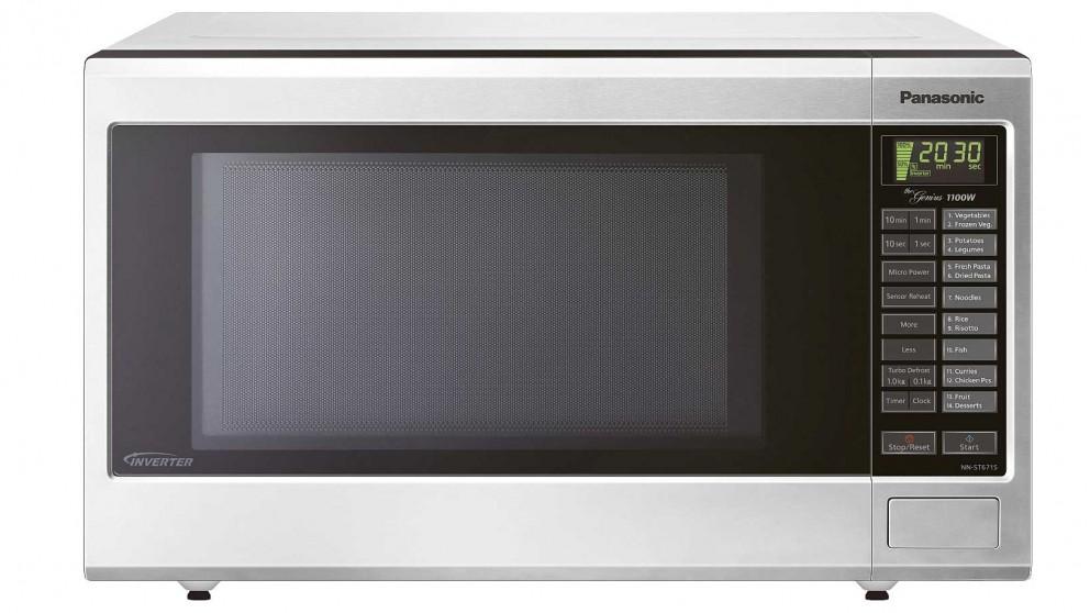 Panasonic 32L Inverter Microwave Oven - Stainless Steel