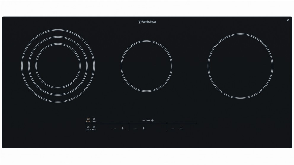 Westinghouse 900mm 5 Zone Touch Control Ceramic Electric Cooktop