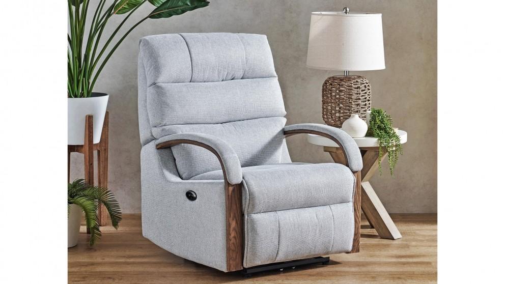 Savannah Fabric Powered Recliner Armchair