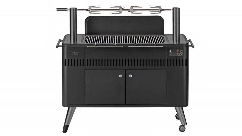 Everdure by Heston Blumenthal HUB II Electric Ignition Charcoal BBQ