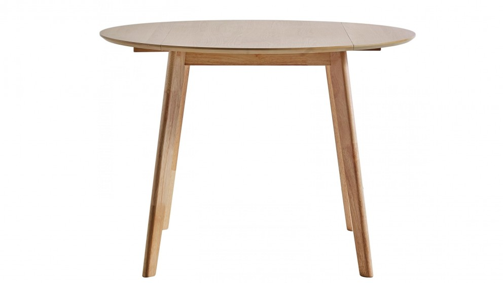 Cody Round Drop-side Dining Table - Natural