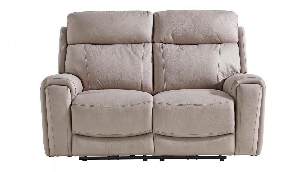 Gatsby 2-Seater Fabric Powered Recliner Sofa - Carrera