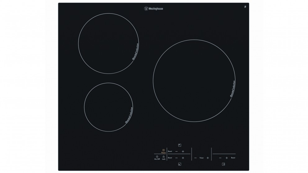Westinghouse 600mm 3 Zone Induction Cooktop