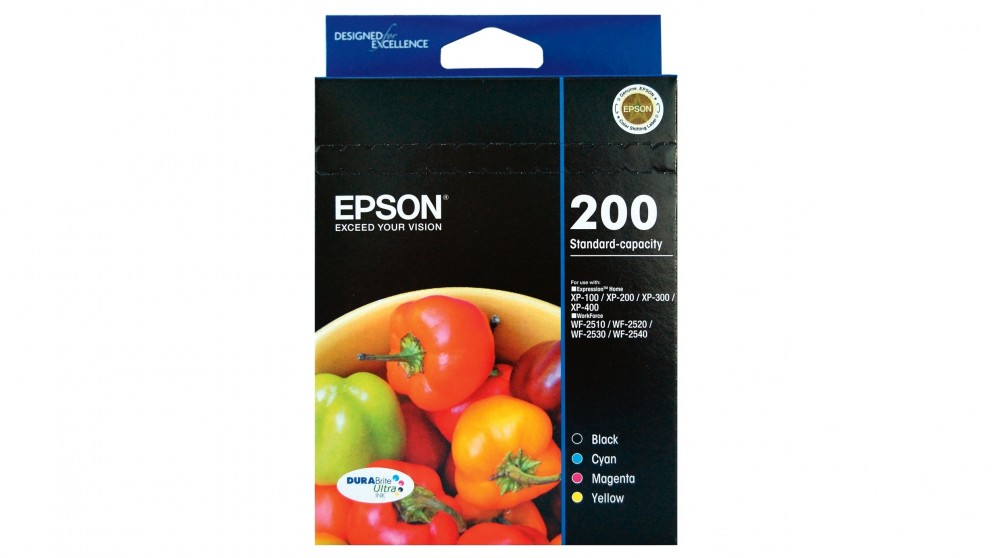 Epson 200 4-Ink Cartridge Pack