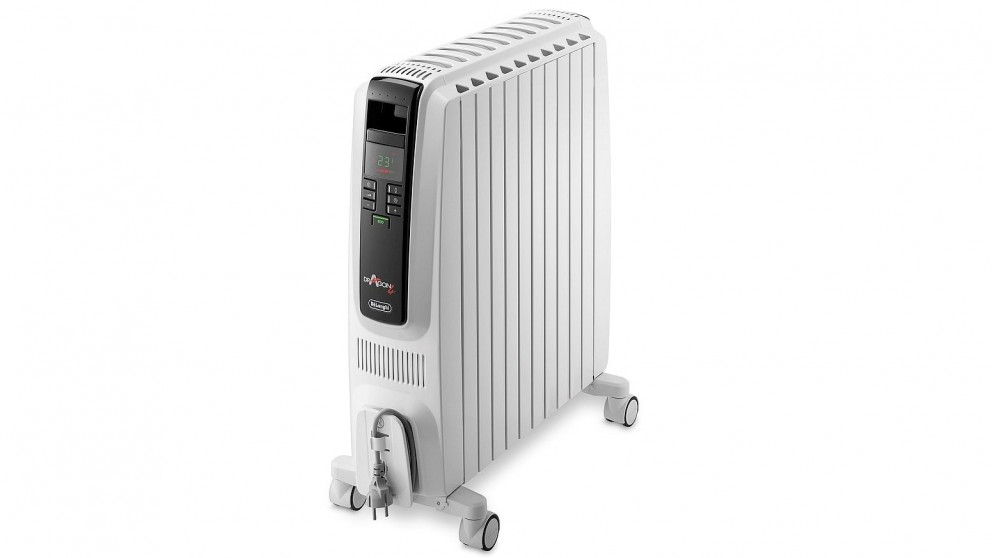 buy delonghi 2400w oil column heater harvey norman au. Black Bedroom Furniture Sets. Home Design Ideas