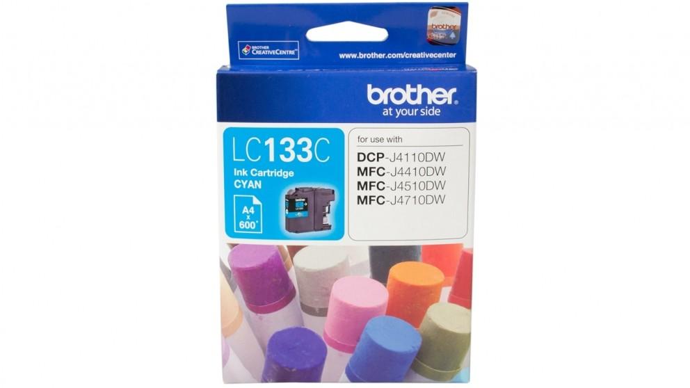 Brother LC-133C Ink Cartridge - Cyan