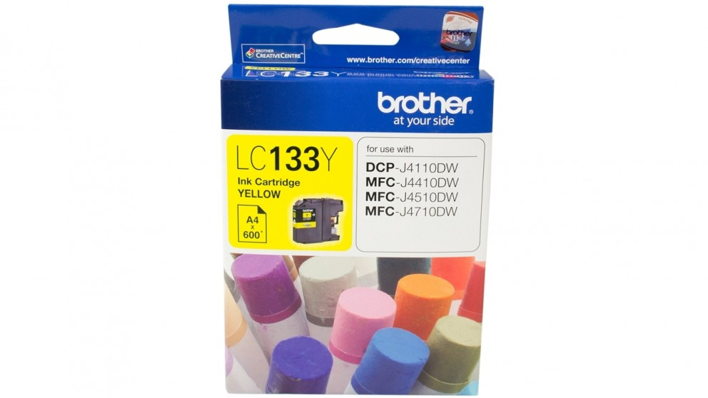 Brother LC-133Y Ink Cartridge - Yellow