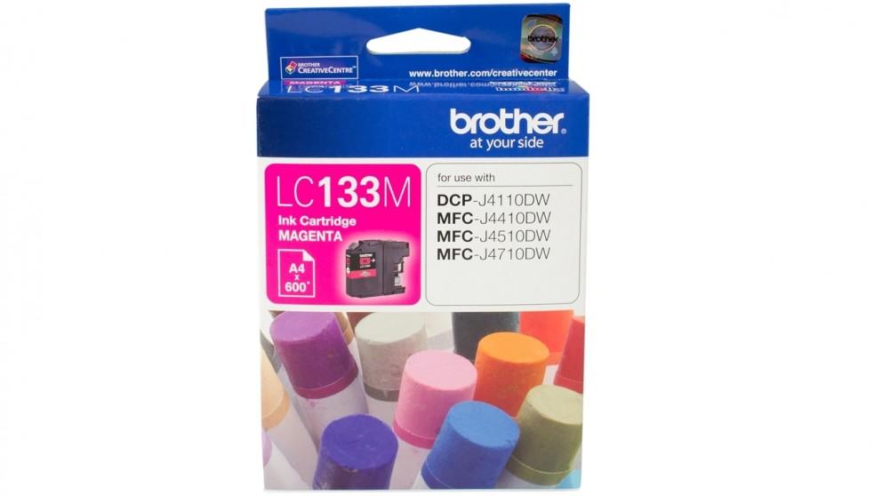 Brother LC-133M Ink Cartridge - Magenta