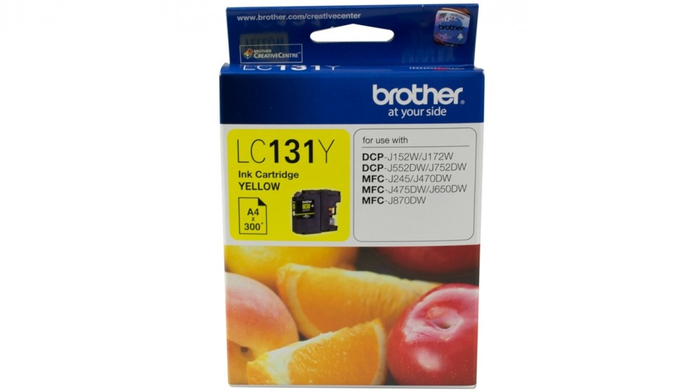 Brother LC-131Y Ink Cartridge - Yellow