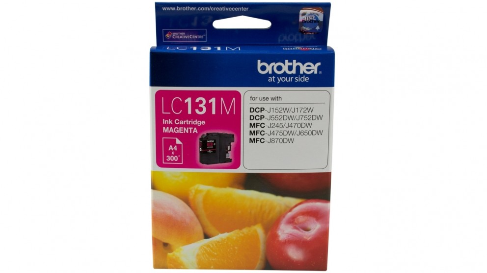 Brother LC-131M Ink Cartridge - Magenta