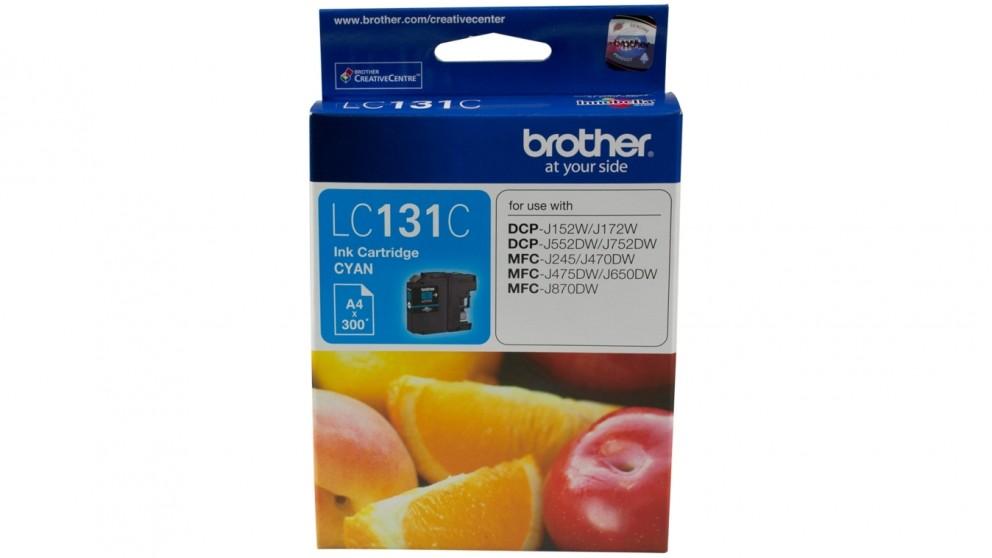 Brother LC-131C Ink Cartridge - Cyan
