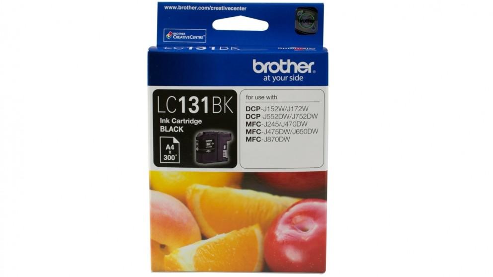 Brother LC-131BK Ink Cartridge - Black