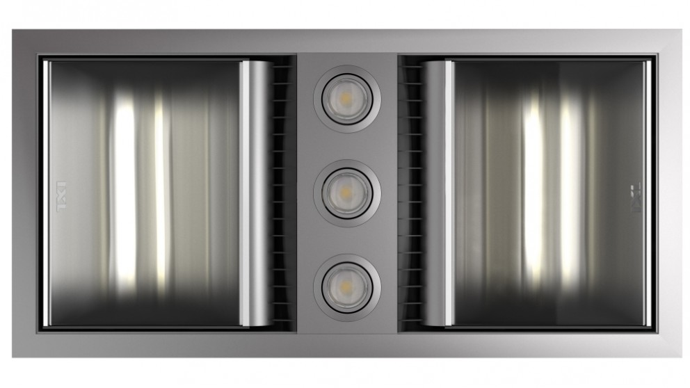 Ixl neo tastic dual bathroom heater fan light harvey norman ixl neo tastic dual bathroom heat fan light mozeypictures Image collections