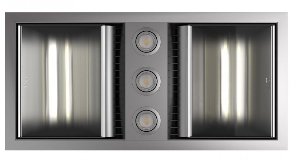 IXL Neo Tastic Dual Bathroom Heater, Fan & Light