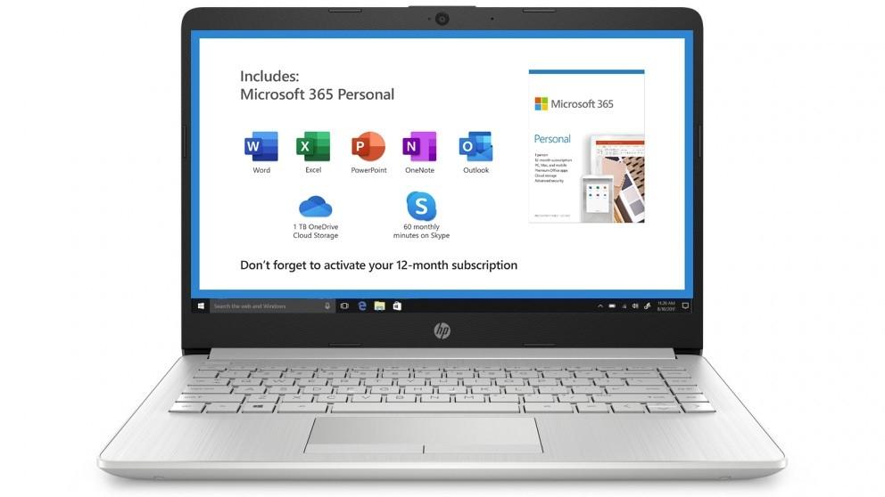 HP 14-inch Celeron-N4020/4GB/64GB eMMC Laptop