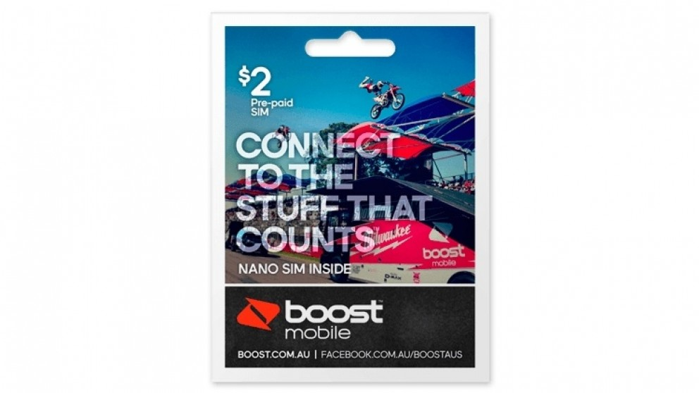Boost Mobile $2 Pre-Paid Nano Sim Starter Kit