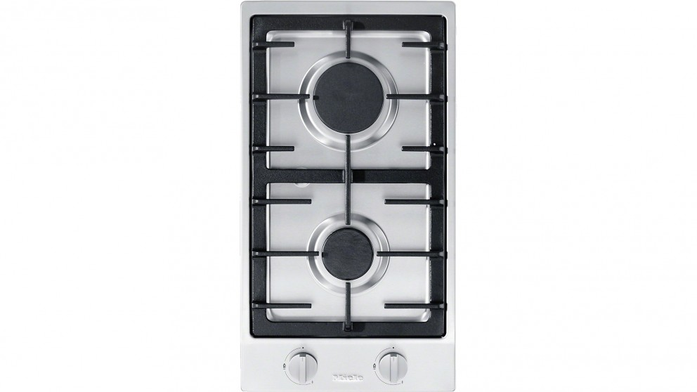 buy miele two burner gas combiset cooktop harvey norman au. Black Bedroom Furniture Sets. Home Design Ideas