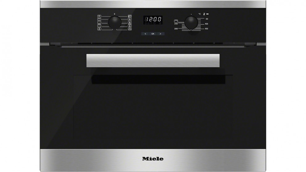 Buy Miele 600mm Cleansteel Compact Oven Harvey Norman Au