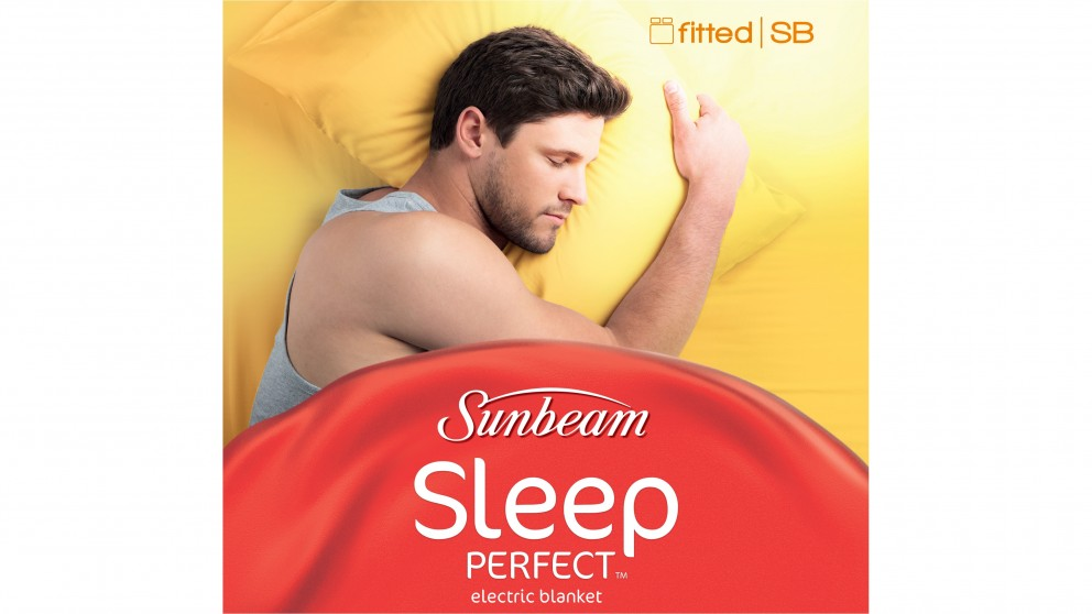 Sunbeam Sleep Perfect Fitted Electric Blanket - Single Bed