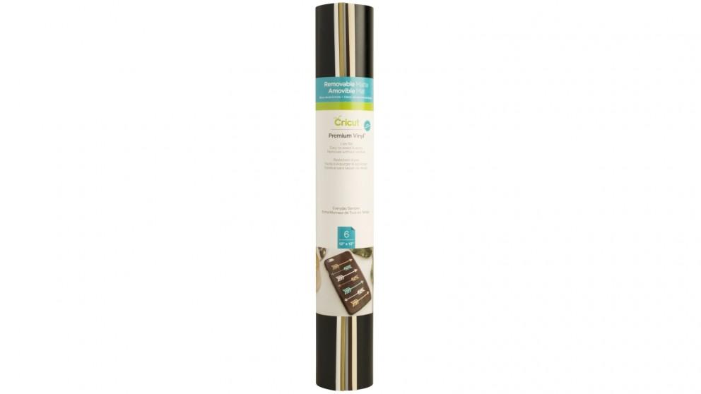 Cricut 6-Sheets 12x12-inch Everyday Sampler Removable Matte Premium Vinyl