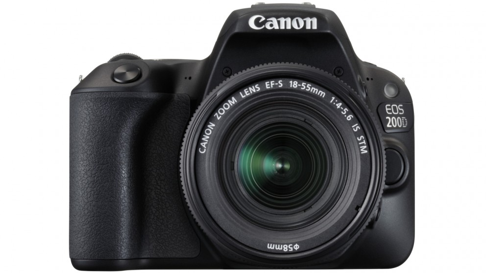 Canon EOS 200D Digital SLR Camera Single Kit