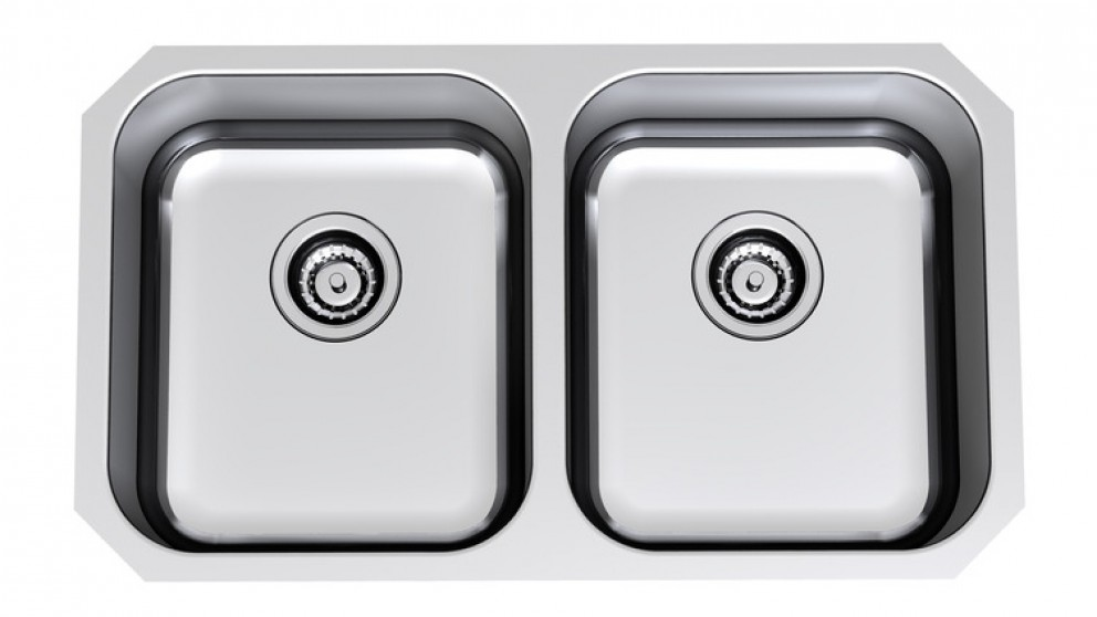 Clark Arctic Double Bowl Undermount Sink