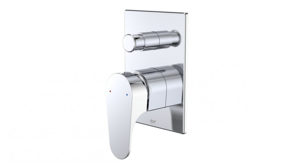 Dorf Viridian Shower or Bath Mixer with Diverter