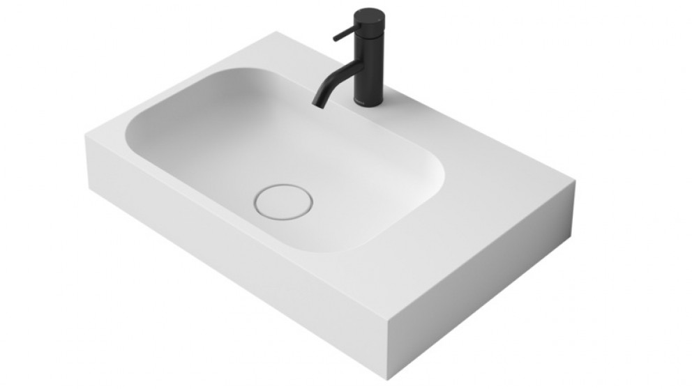 Caroma Sunstone 600mm Wall Mounted Basin
