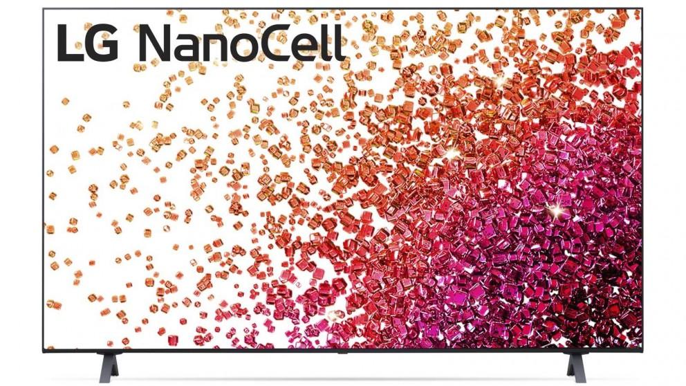 LG 55-inch Nano75 4K UHD NanoCell LED LCD Ai ThinQ Smart TV