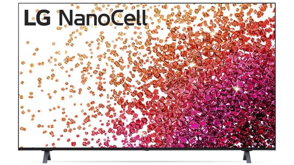 LG 65-inch Nano75 4K UHD NanoCell LED LCD Ai ThinQ Smart TV