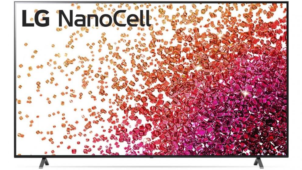 LG 75-inch Nano75 4K UHD NanoCell LED LCD Ai ThinQ Smart TV