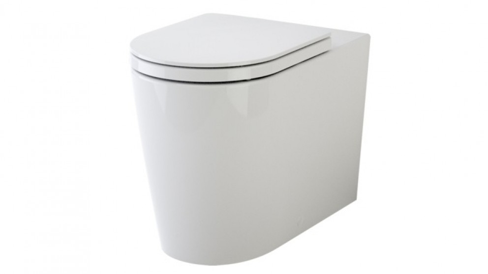 Caroma Liano Cleanflush Wall Faced Invisi Series II Toilet Suite