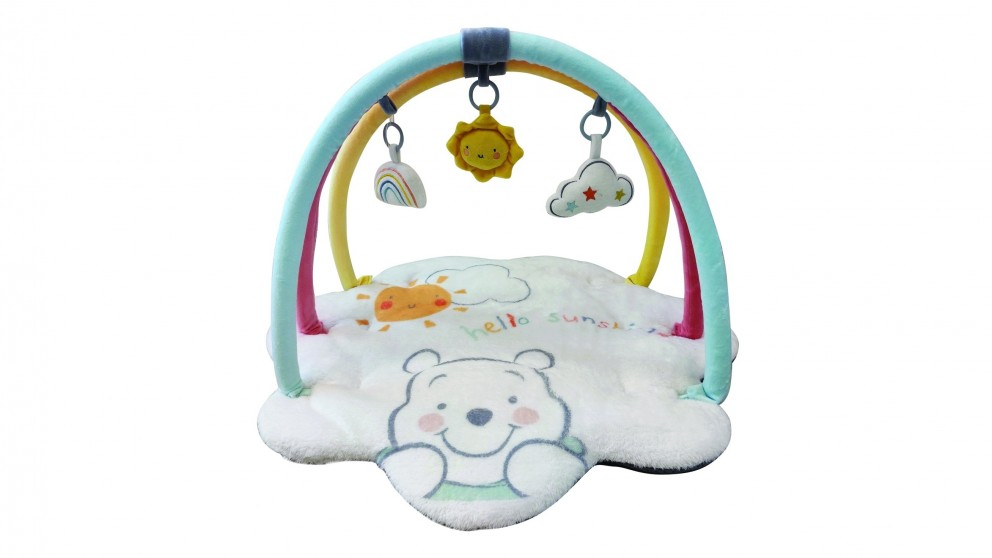 Baby Studio Winnie the Pooh Playmat with Toy Bar