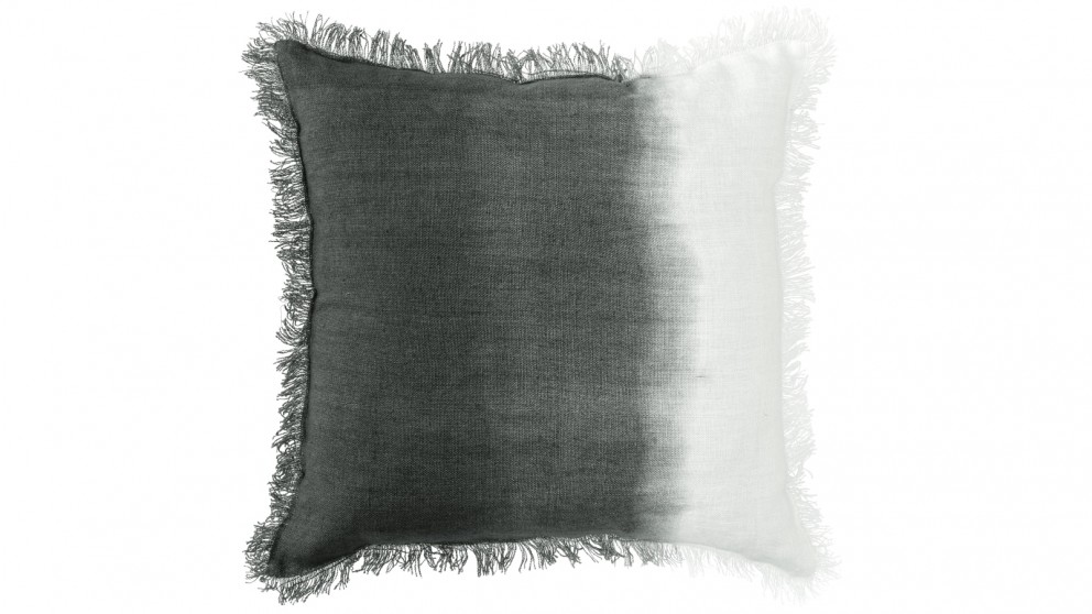 Cove Ombre Charcoal Cushion