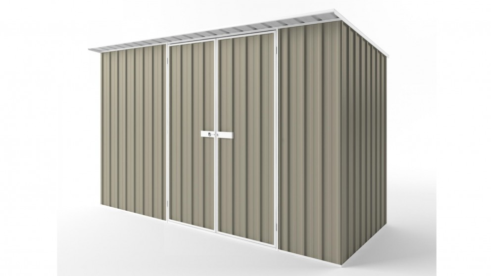 EasyShed D3815 Skillion Roof Garden Shed - Stone