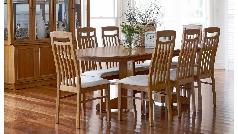 Tuscan 9 Piece Extension Dining Setting