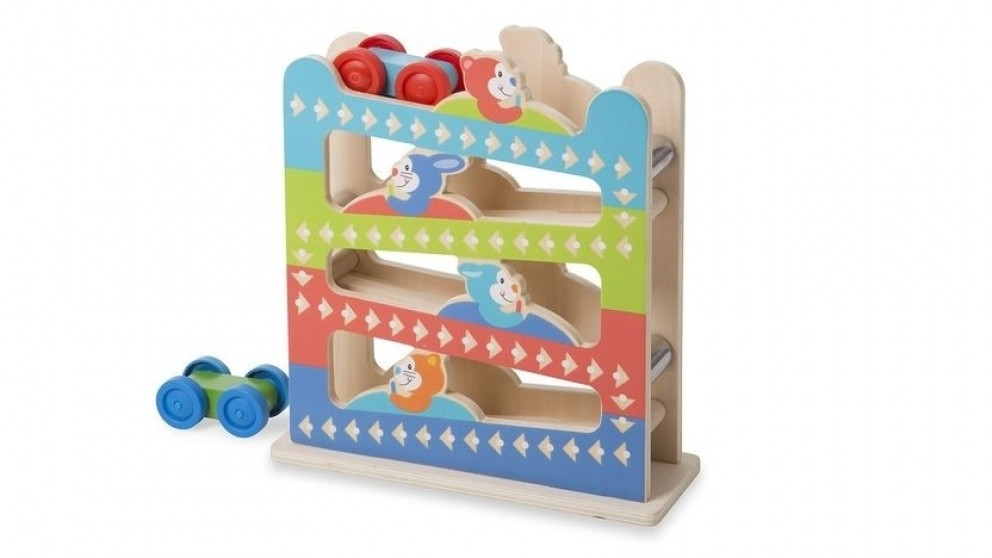 Melissa and Doug First Play Roll and Ring Ramp