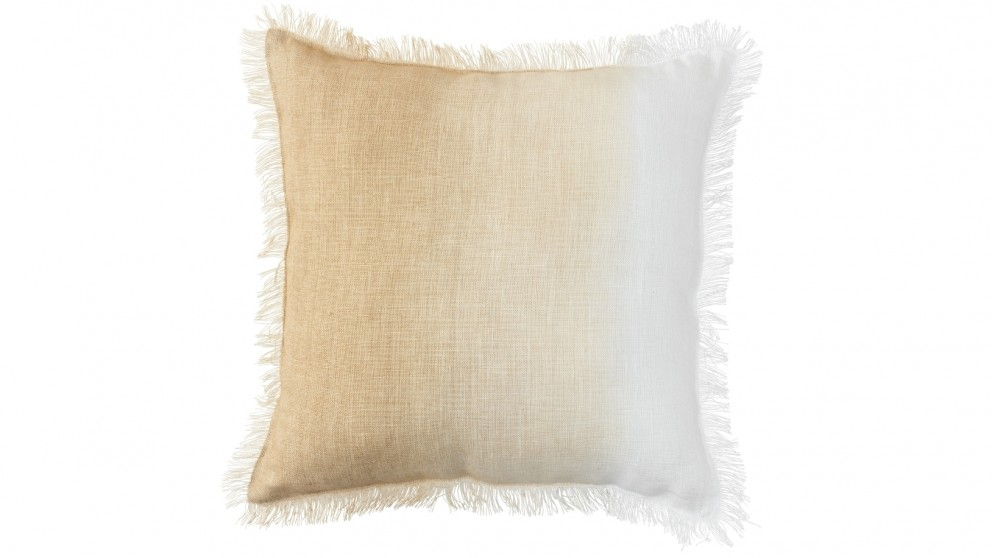 Cove Ombre Natural Cushion