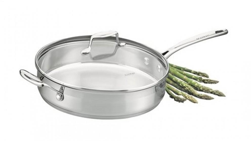 Scanpan Impact Saute Pan with Lid 28cm