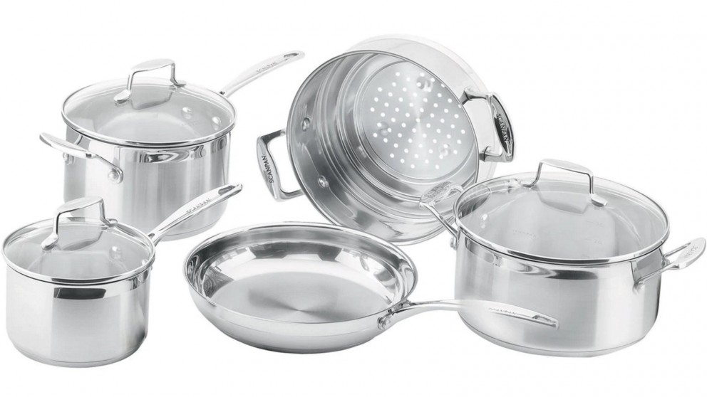 Scanpan Impact 5 Piece Cookware Starter Set
