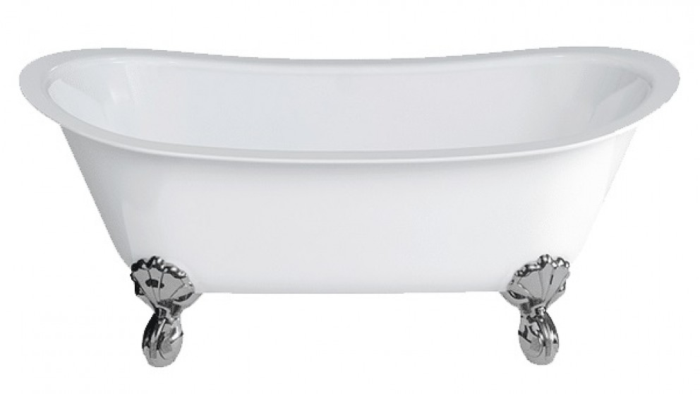 Gareth Ashton Batello 1690mm Stone Freestanding Bath with Claw Feet