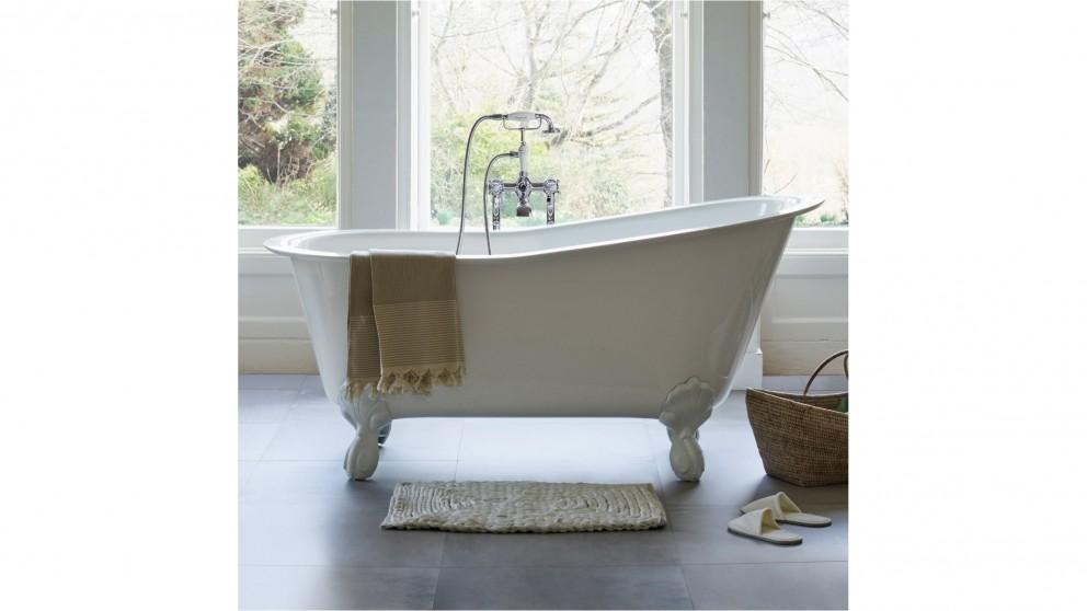 Gareth Ashton Romano Grande Stone Bath with White Claw Feet
